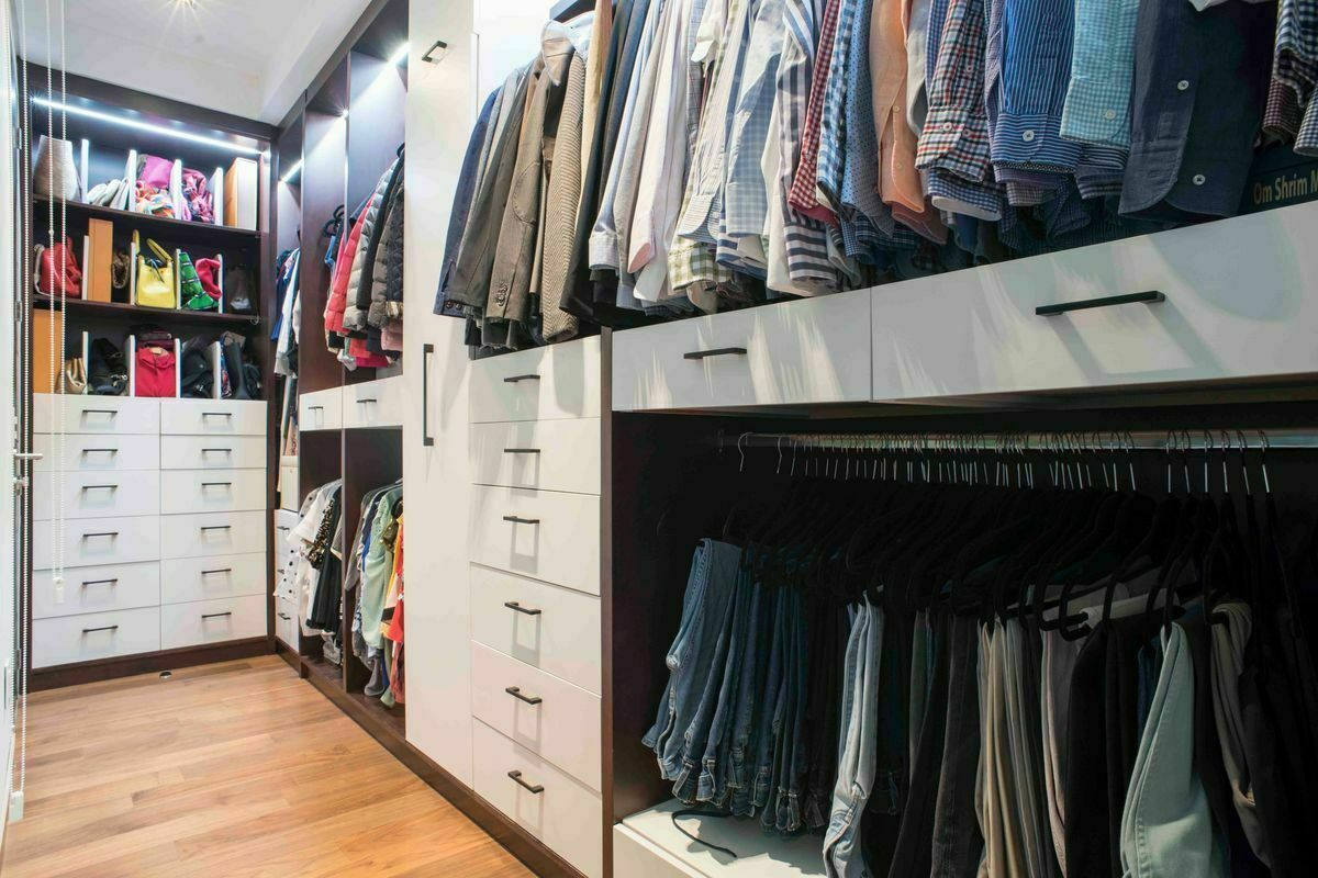 13 de 24: Walk-in-closet