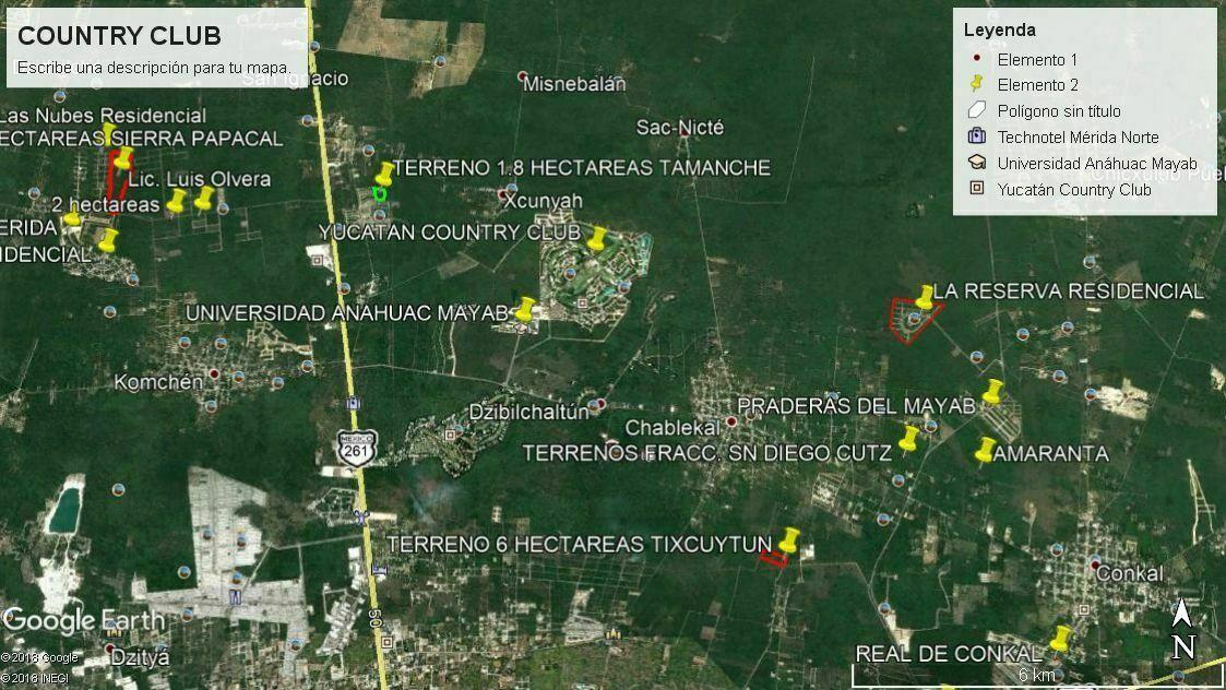 4 de 20: TERRENO EN VENTA YUCATAN COUNTRY CLUB MERIDA  CHICHEN REALTY