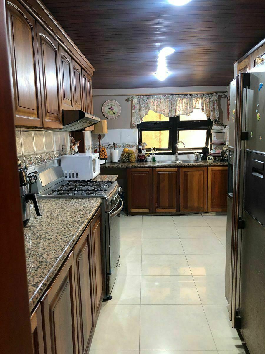 5 de 10: Espaciosa cocina