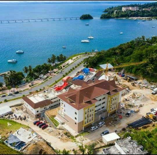 1 de 7: Vista aerea de los apartamentos