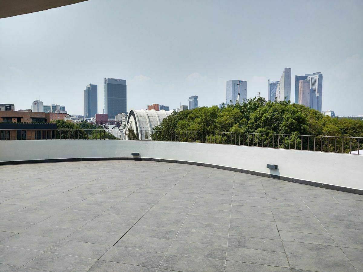 18 de 31: Roof Garden vistas skyline Reforma