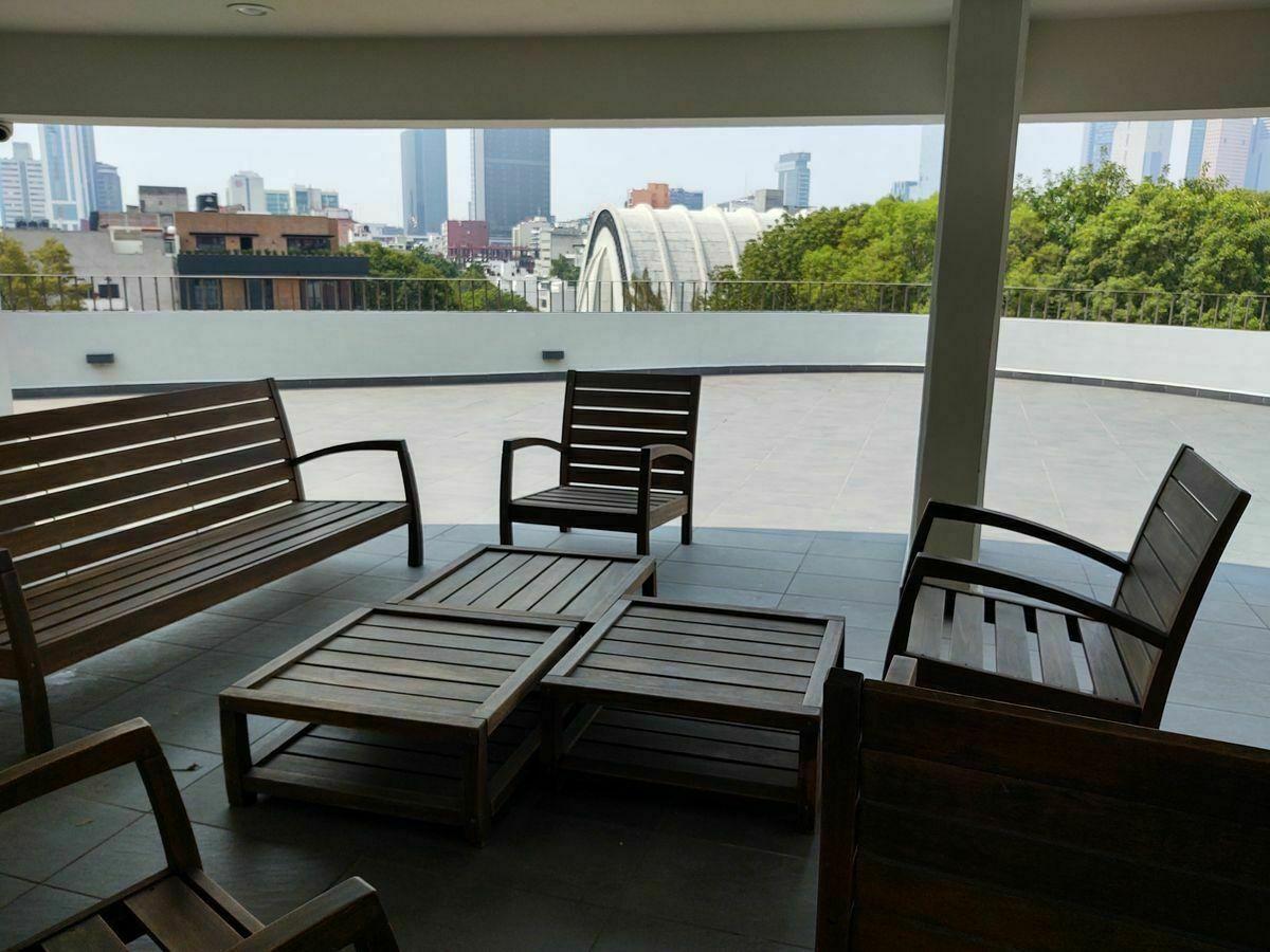 20 de 31: Roof Garden  vistas skyline Reforma