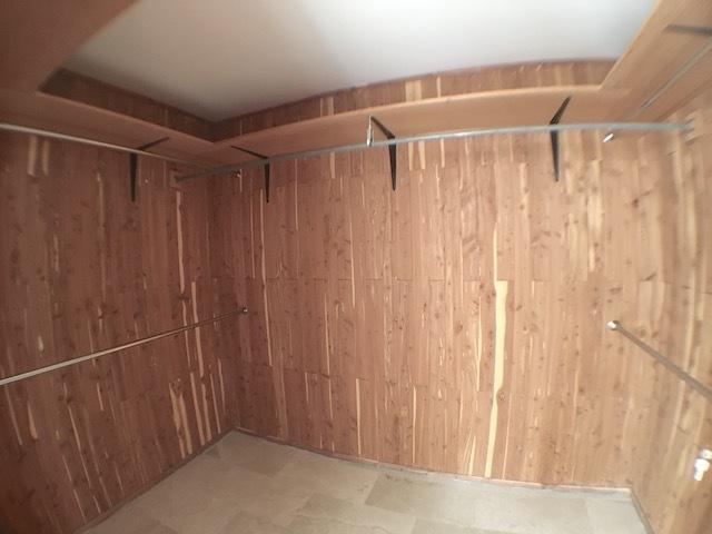 18 de 18: todas las habitaciones con WC forrados