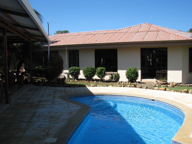20 of 45: Newly tiled pool