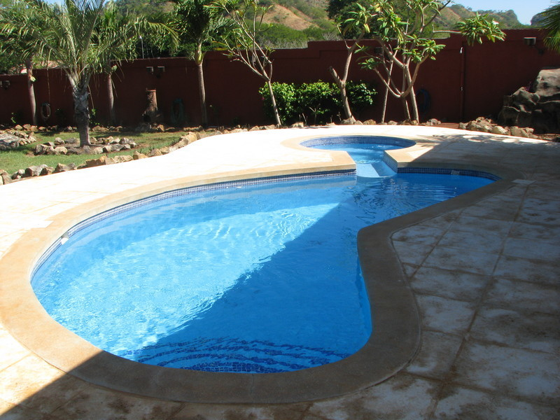 19 of 45: New Pool decking