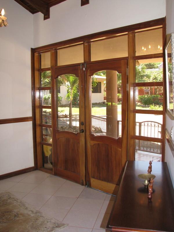 30 of 45: Foyer front door