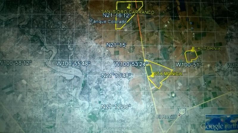 7 de 8: Localización del Rancho.