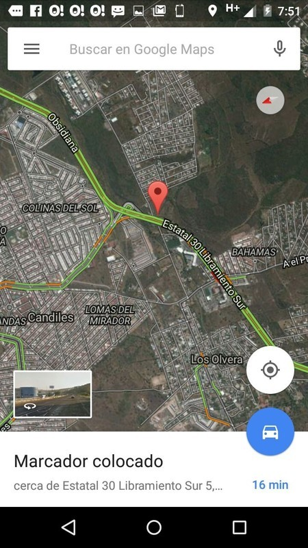 2 de 8: Localización satelital