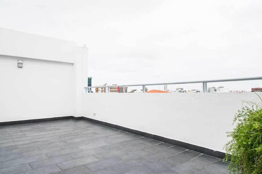 13 de 13: Terraza comun en último piso