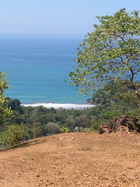 2 of 8: White water views of Achiote. Whales can be seen from here.