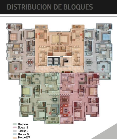 3 de 6: Planta apartamentos