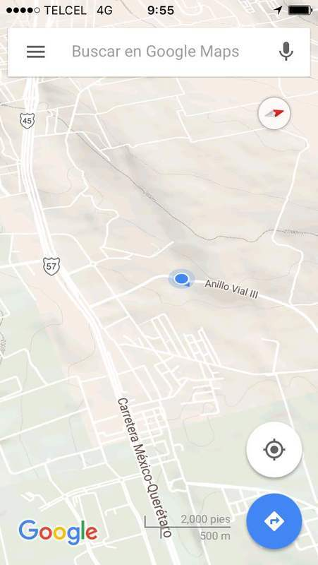 4 de 5: Localizacion google.