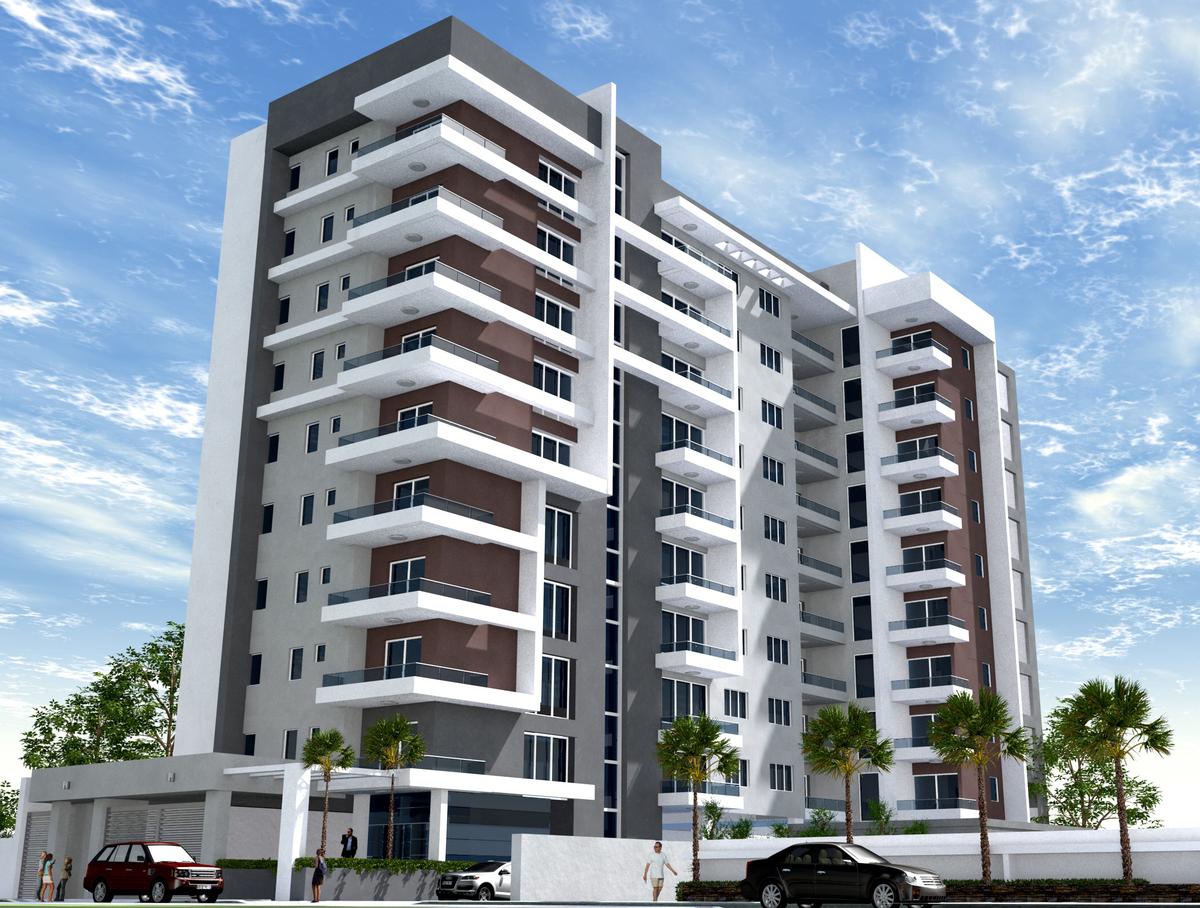 Apartamento nuevo de 3 habitaciones en evaristo morales for Fachadas de edificios modernos