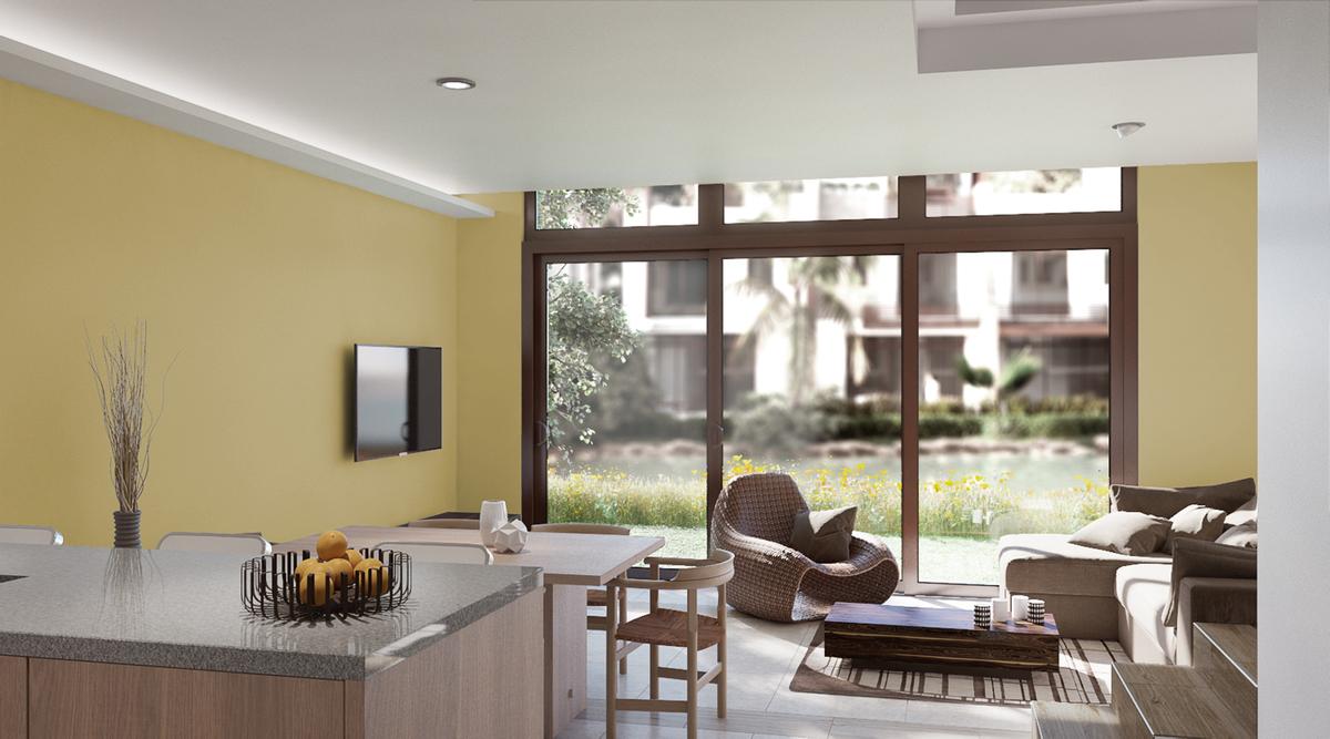 30 de 50: Vista Interior de Villa A
