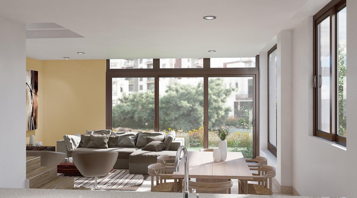 31 de 50: Vista interior de Villa B