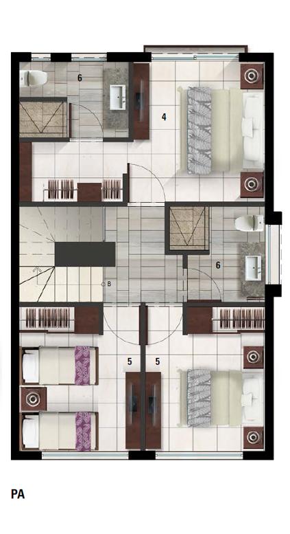 39 de 50: Villa A Plano PA