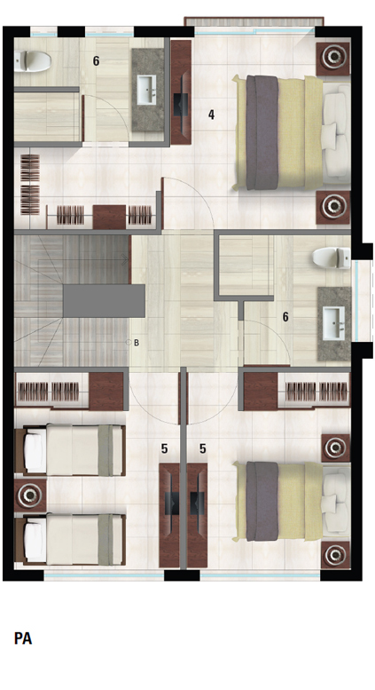 44 de 50: Villa C Plano PA