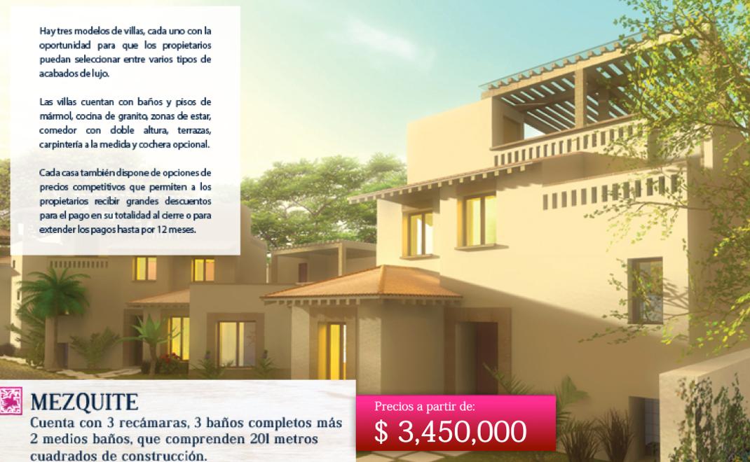 2 of 5: Descripción Básica Villa Mezquite
