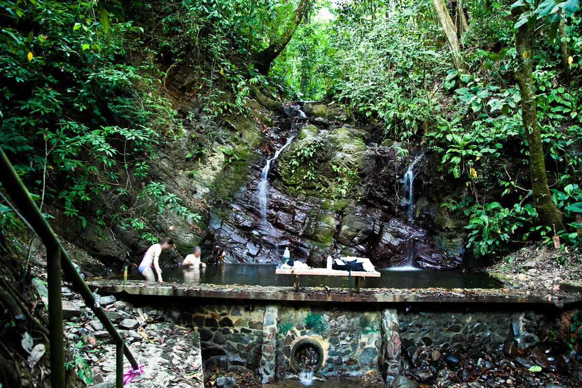 21 of 21: Community swimming pool & waterfall