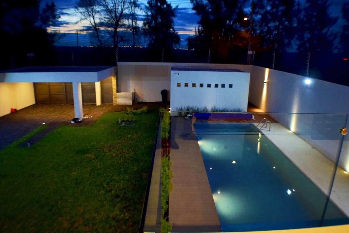 Casa de campo con alberca carr chapala lujo for Albercas baratas y grandes