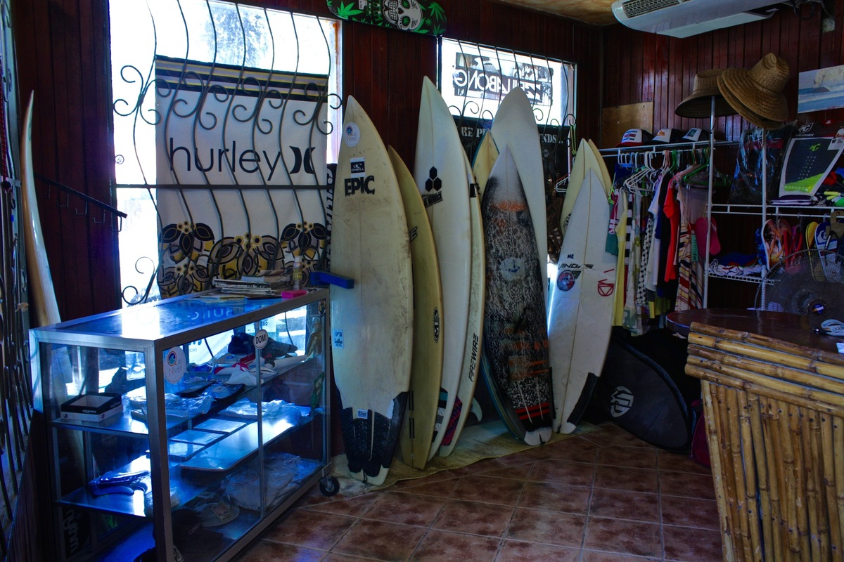 7 of 14: Surf board sales and rentals!