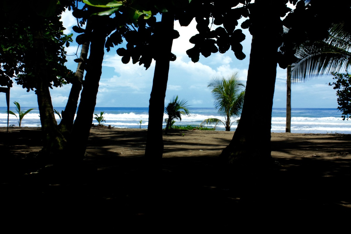 13 of 14: Playa Dominical - great for surfers and family fun!