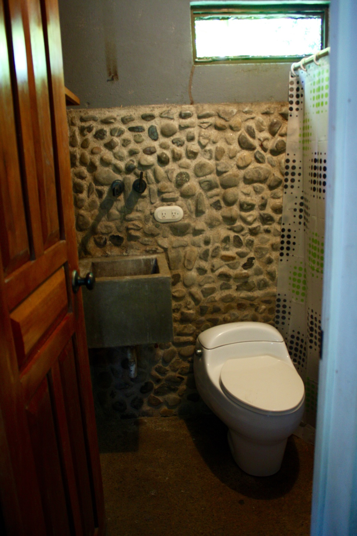 11 of 14: Private bathroom for guests.
