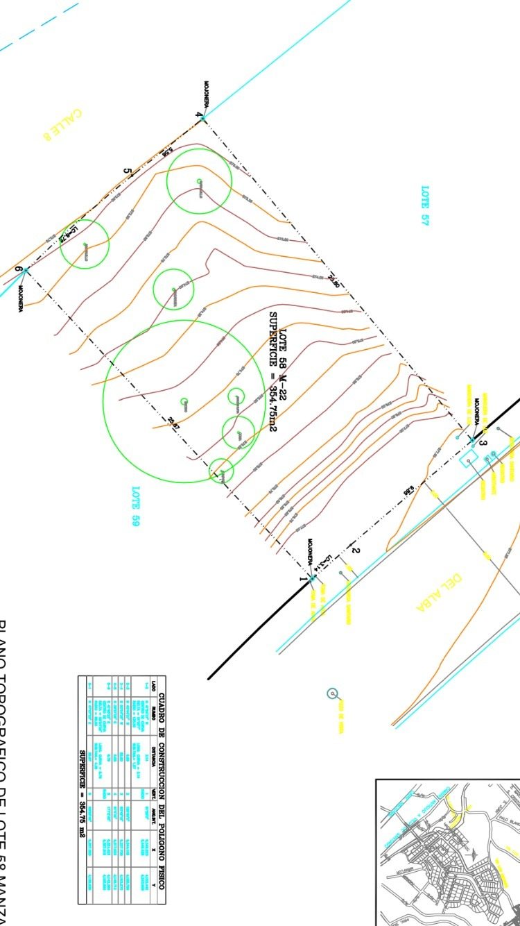 13 de 16: Plano del terreno