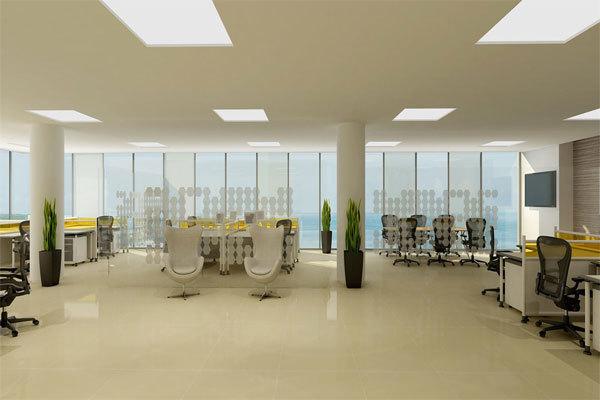 4 de 16: Elegantes y Sofisticadas Oficinas
