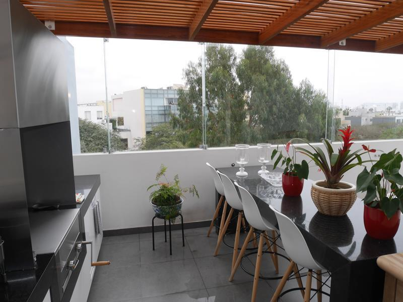 30 de 39: Hermosa Terraza con BBQ en Área Común último piso