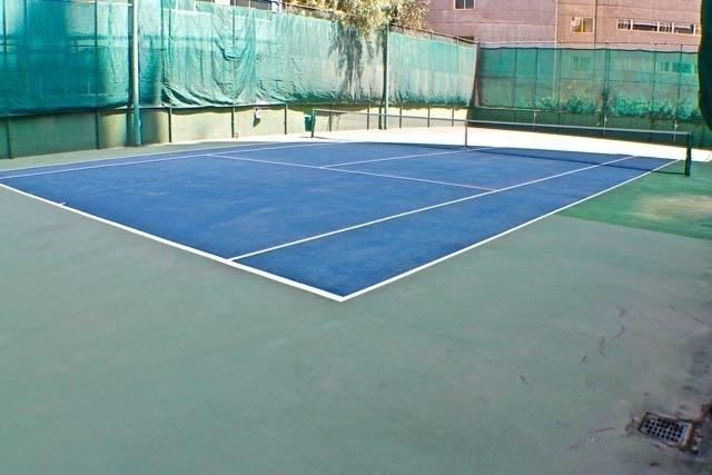 19 de 25: Cancha de tennis