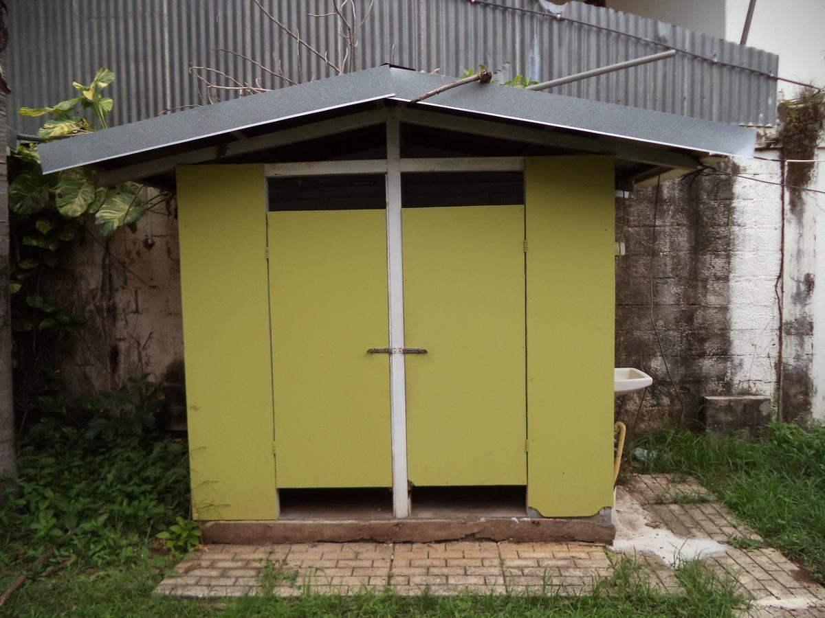 9 of 10: Outdoor washrooms
