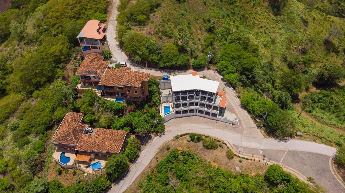 26 of 28: Aerial view of Chantel Suites