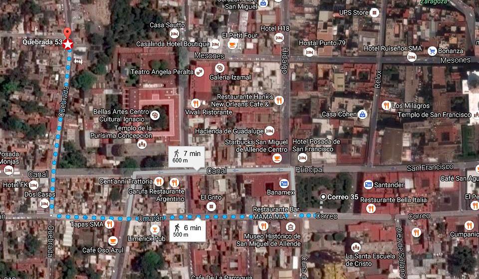 7 of 7: A solo 5 minutos de la parroquia de San Miguel Arcangel.