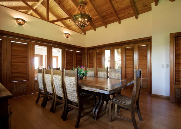 9 de 21: Dining room with air conditioning