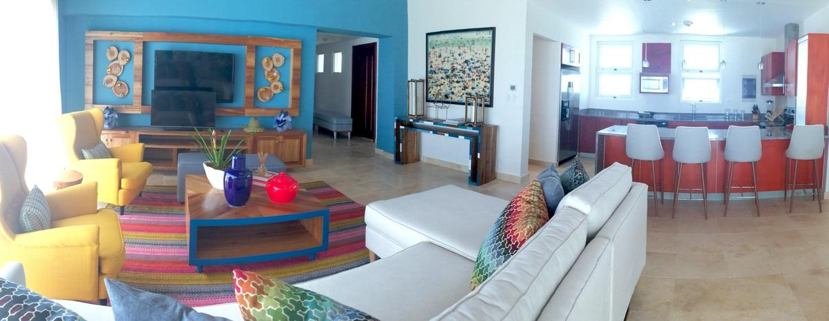 2 de 6: Living room & Kitchen