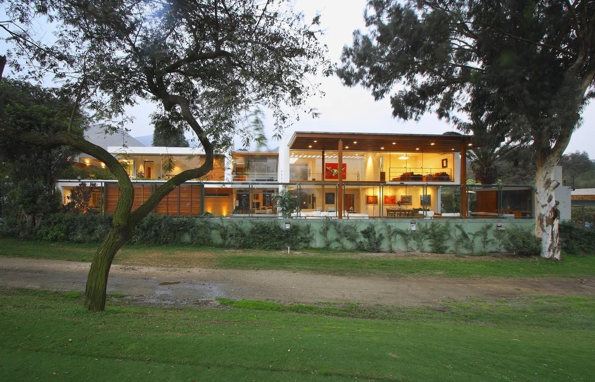 14 de 18: La casa vista desde el Golf