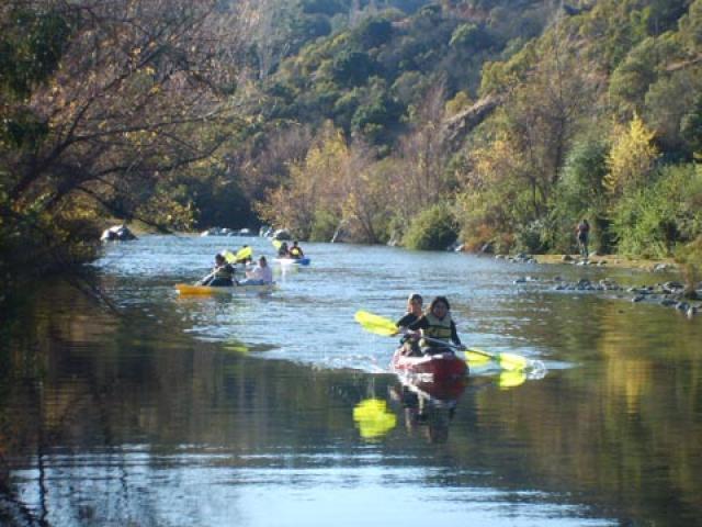 27 de 50: Kayak en Estero Puangue.