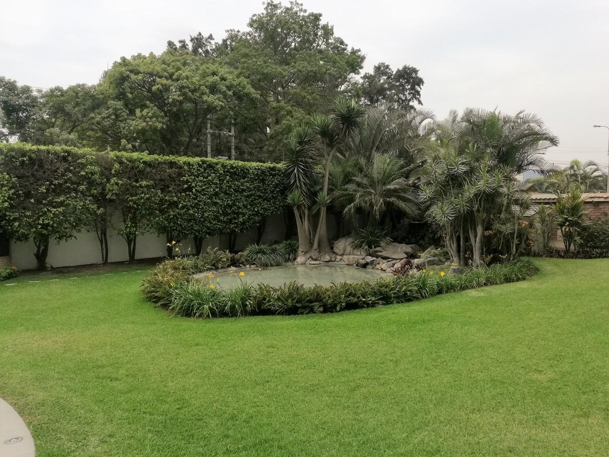 3 de 34: Jardín de ingreso al edificio de 3,500m2