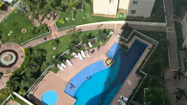 3 de 11: vita do apartamento para a piscina