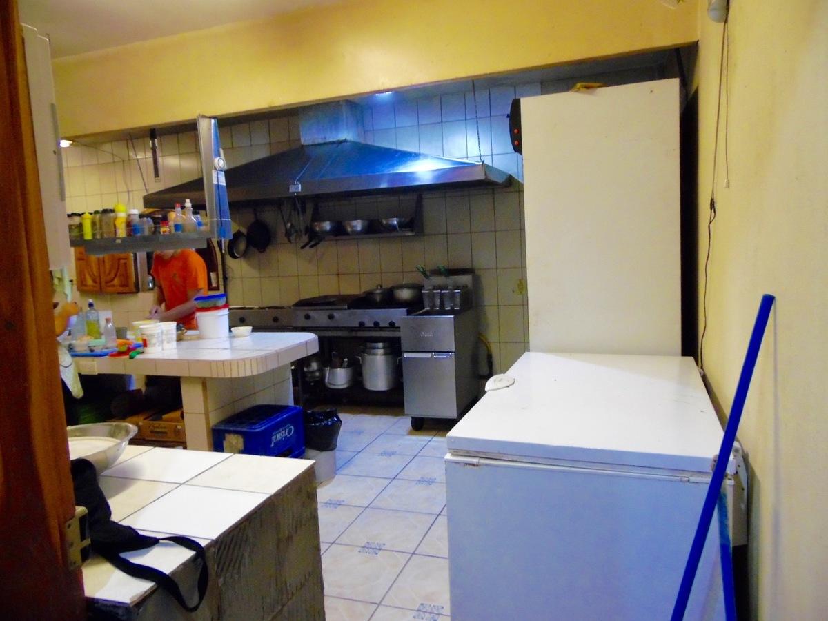 3 of 6: Spacious restaurant kitchen.