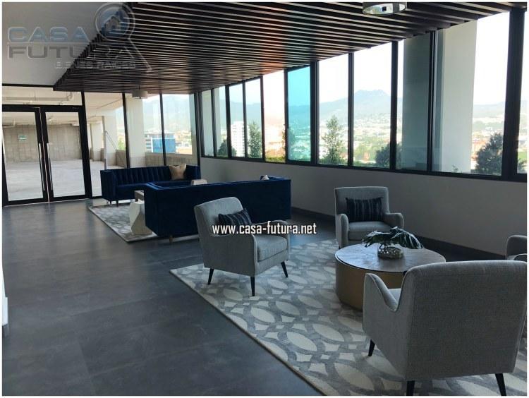 20 de 23: Moderno lobby con detalles unicos!