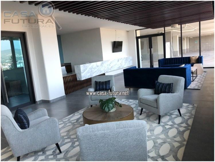 2 de 23: Lobby muy amplio y elegante con detalles modernos!