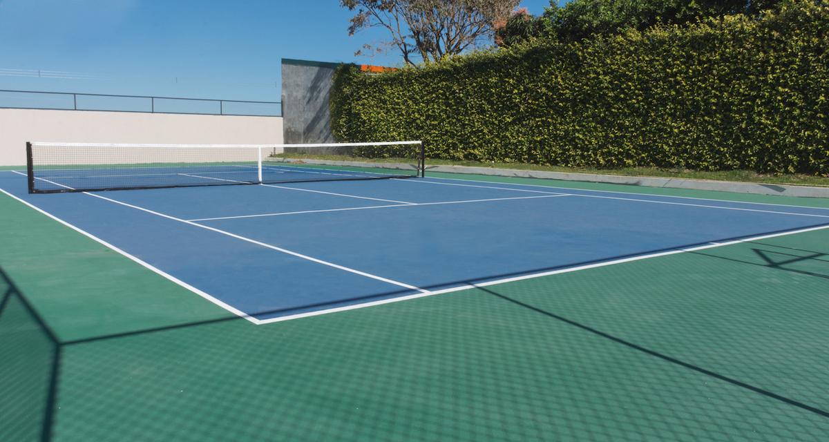 14 de 16: Cancha de Tennis