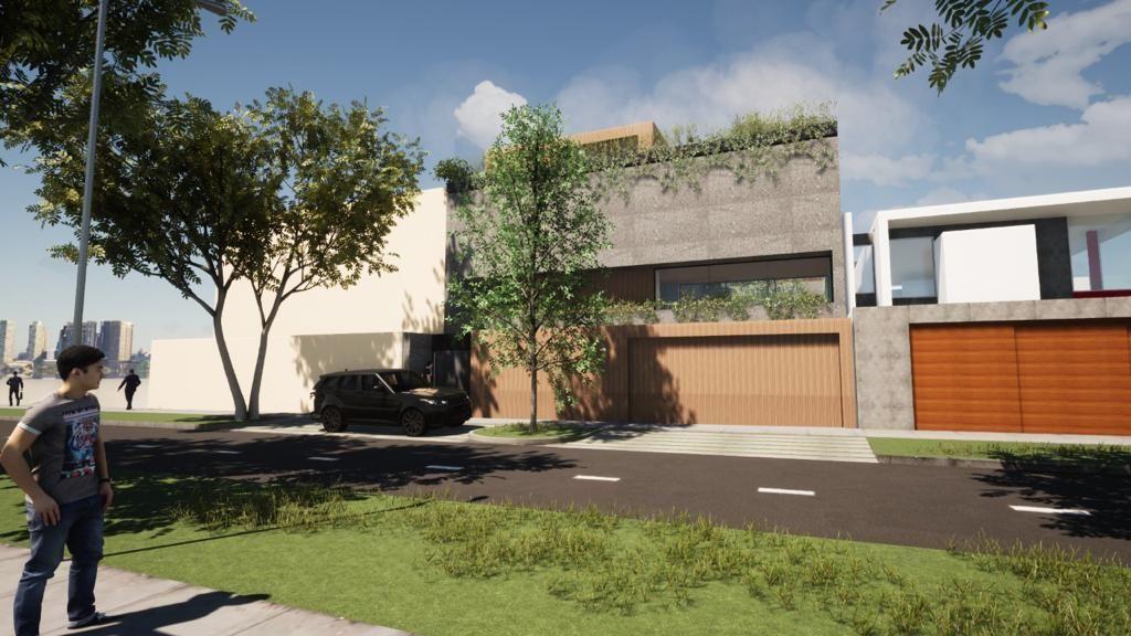 1 de 11: Imagen Referencial del Proyecto de Casa en el terreno en vta
