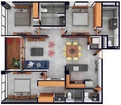6 de 11: The perfect home (modelo C)