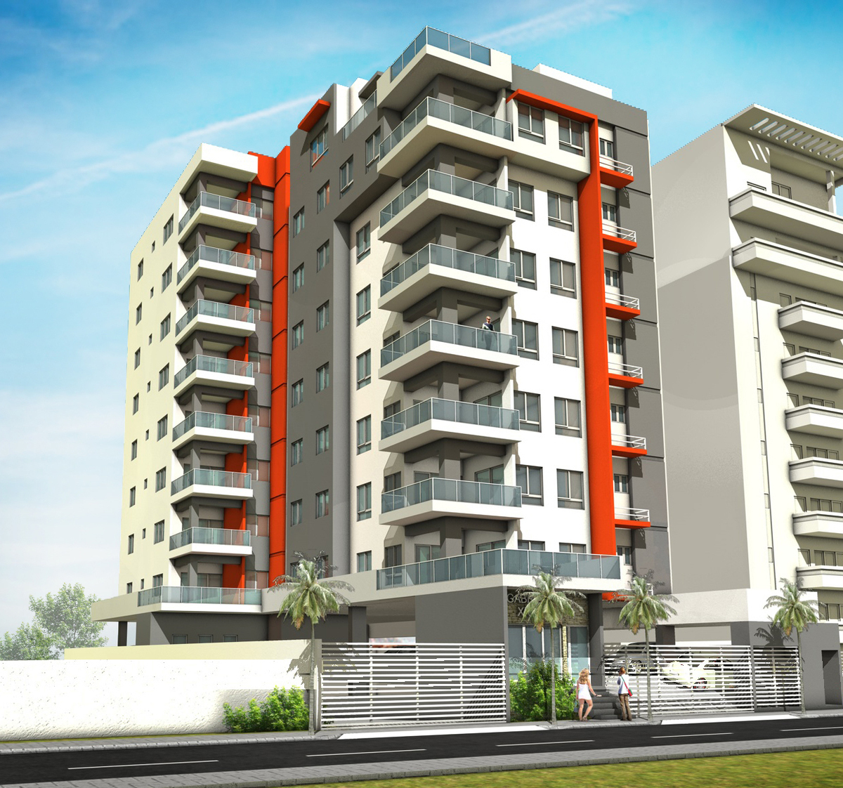 Proyecto de apartamentos en evaristo morales 2 hab for Apartamentos