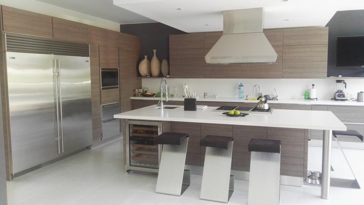 9 de 10: Cocina con electrodomésticos de lujo!