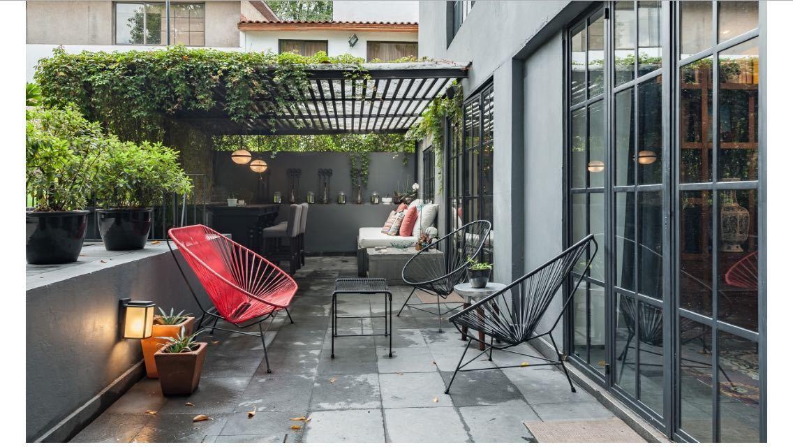 3 de 7: increíble terraza con vista y acceso al jardín