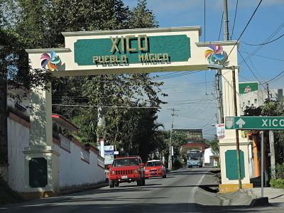 10 de 19: Entrada a Xico -Pueblo Mágico-